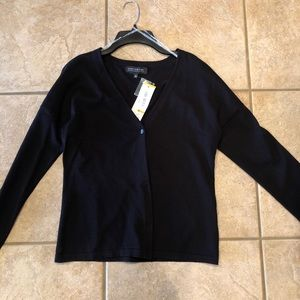 Classic black cardigan New With Tags